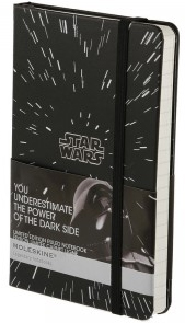 STAR WARS PLAIN [13X21] LISAS LARGE -MOLESKINE
