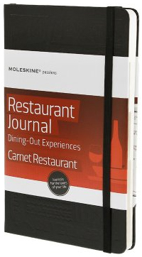 RESTAURANT JOURNAL -MOLESKINE PASSIONS