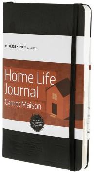 HOME LIFE JOURNAL -MOLESKINE PASSIONS