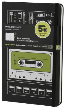 AUDIO CASSETTE [13X21] LISAS -MOLESKINE