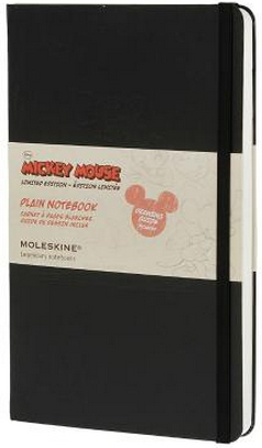 MICKEY MOUSE. PLAIN [13X21] LISAS NOTEBOOK -MOLESKINE
