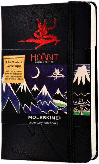 HOBBIT [9X14] RULED (RAYAS) -MOLESKINE