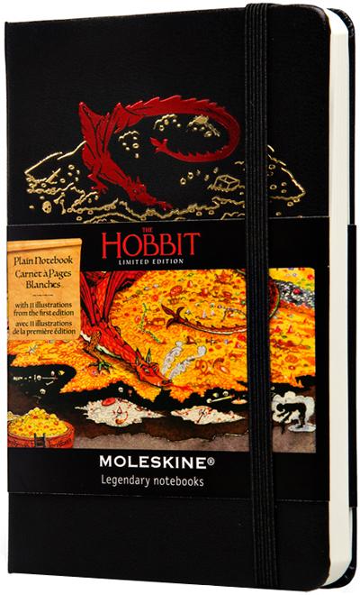 HOBBIT [13X21] PLAIN (LISAS) -MOLESKINE