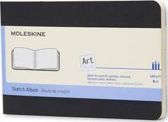 SKETCH ALBUM BLACK [19X19] ART -MOLESKINE