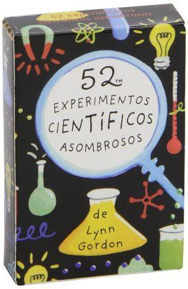 BARAJA 52 EXPERIMENTOS CIENTIFICOS ASOMBROSOS 5ªED