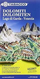 DOLOMITI 1:200.000- TABACCO