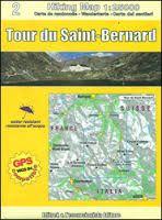 2 TOUR DU SAINT-BERNARD 1:25.000- HIKING MAP