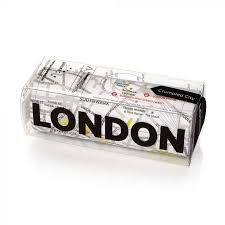 LONDON [MAPA TELA] -CRUMPLED CITY MAP