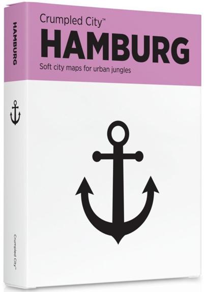 HAMBURG [MAPA TELA] -CRUMPLED CITY MAP