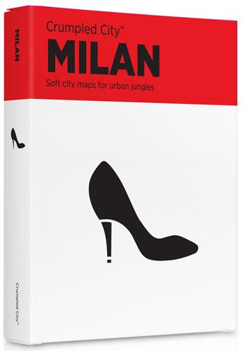 MILAN [MAPA TELA] -CRUMPLED CITY MAP