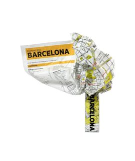 BARCELONA [MAPA TELA] -CRUMPLED CITY MAP