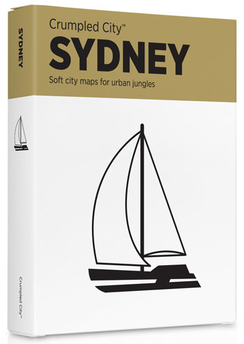 SYDNEY [MAPA TELA] -CRUMPLED CITY MAP