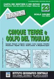 23 CINQUE TERRE E GOLFO DI TIGULLIO 1:50.000 -IGC