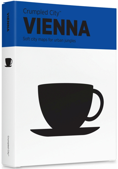 VIENNA [MAPA TELA] -CRUMPLED CITY MAP