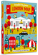 LONDON MAP (JUNIOR) [MAPA TELA] -CRUMPLED CITY JUNIOR
