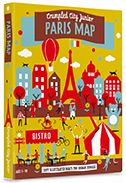 PARIS (JUNIOR) [MAPA TELA] -CRUMPLED CITY JUNIOR