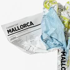 MALLORCA [MAPA TELA] -CRUMPLED CITY MAP