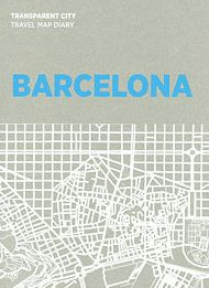 BARCELONA. TRANSPARENT CITY MAP DIARY -PALOMAR