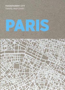 PARIS. TRANSPARENT CITY MAP -PALOMAR