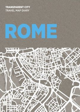 ROME. TRANSPARENT CITY MAP -PALOMAR