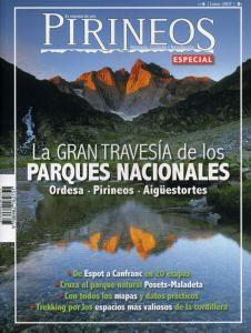 06. ESPECIAL: GRAN TRAVESIA DE LOS PARQUES NACIONALES -EL MUNDO DE LOS PIRINEOS -REVISTA