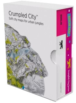 BOX BERLIN (+ JUNIOR) [MAPA TELA] -CRUMPLED CITY MAP