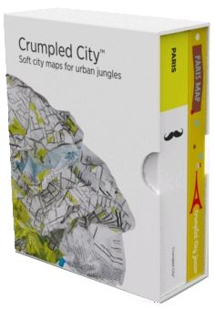 BOX PARIS (+ JUNIOR) [MAPA TELA] -CRUMPLED CITY MAP