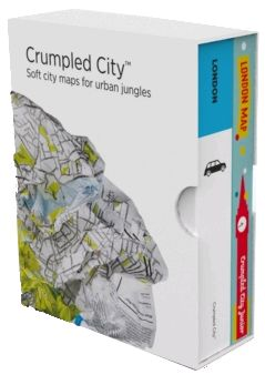 BOX LONDON (+ JUNIOR) [MAPA TELA] -CRUMPLED CITY MAP