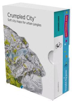BOX AMSTERDAM (+ JUNIOR) [MAPA TELA] -CRUMPLED CITY MAP