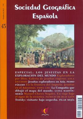 45 SOCIEDAD GEOGRAFICA ESPAÑOLA -REVISTA