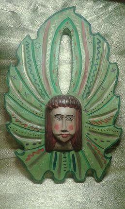 ANGEL DE MADERA GUATEMALA -ALT0450