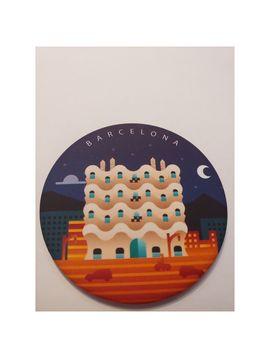 LA PEDRERA MAGNET [IMANT DE FUSTA] -DEAR BARCELONA