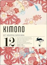 03. KIMONO -GIFT WRAPPING PAPER BOOK (12 SHEETS 50X70)