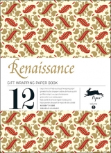 05. RENAISSANCE -GIFT WRAPPING PAPER BOOK (12 SHEETS 50X70)