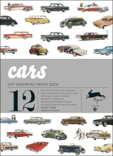 13. CARS -GIFT WRAPPING PAPER BOOK (12 SHEETS 50X70)