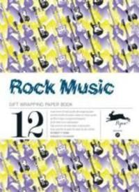 ROCK MUSIC -GIFT WRAPPING PAPER BOOK