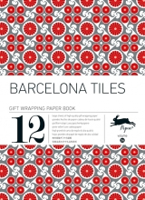 36. BARCELONA TILES -GIFT WRAPPING PAPER BOOK (12 SHEETS 50X70)
