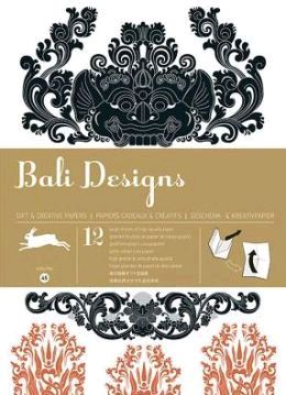 45. BALI DESIGNS -GIFT WRAPPING PAPER BOOK