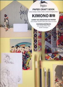 KIMONO. PAPER CRAFT BOOK