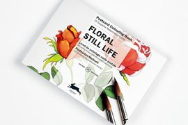 FLORAL STILL LIFE -POSTCARD COLOURING BOOK