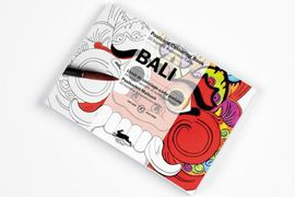 BALI -POSTCARD COLOURING BOOK