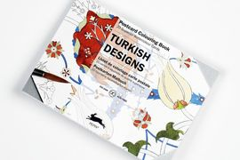 TURKISH DESIGNS -POSTCARD COLOURING BOOK