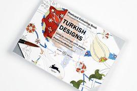 TURKISH DESIGNS -POSTCARD COLOURING BOOK