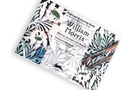 WILLIAM MORRIS -POSTCARD COLOURING BOOK