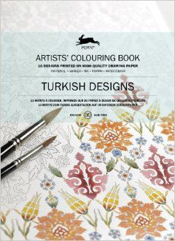 TURKISH DESIGNS -ARTISTS' COLOURING BOOK
