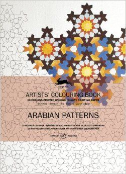 ARABIAN PATTERNS -ARTISTS' COLOURING BOOK