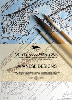 JAPANESE DESIGNS -ARTISTS' COLOURING BOOK