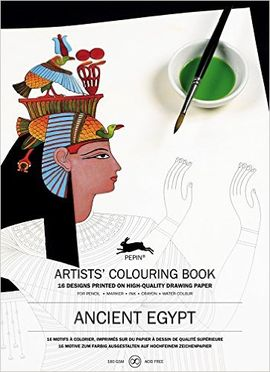 ANCIENT EGYPT -ARTISTS' COLOURING BOOK