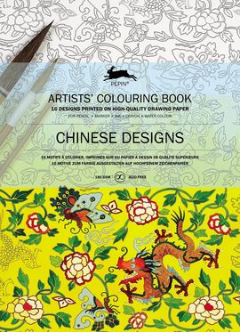 CHINESE DESIGNS -ARTISTS' COLOURING BOOK