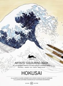 HOKUSAI -ARTISTS' COLOURING BOOK